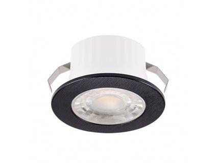 Downlight FIN LED C 3W 245lm 4000K IP20 38° černá