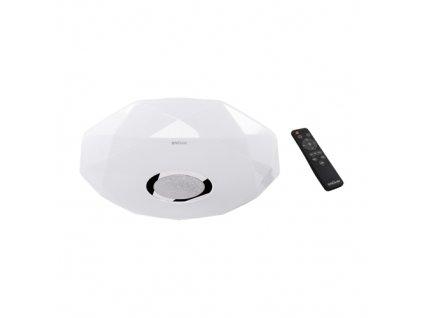 Plafoniera IRYNA LED C 48W 5450lm 3000-6500K IP44 s ovladačem, bílá
