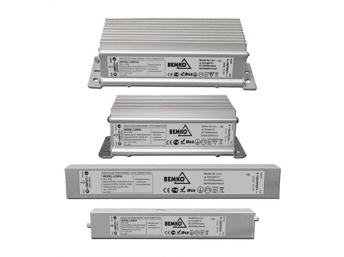 LED zdroj IP68 12V 30W