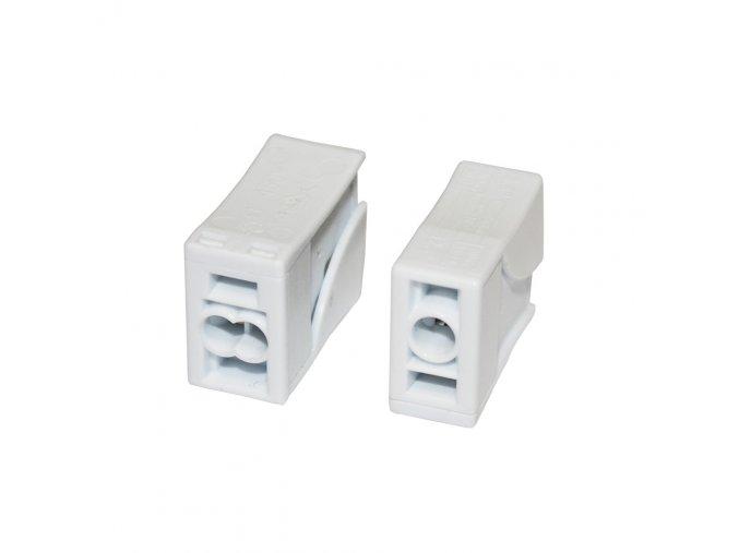 svítidlová svorka 2,5mm  - 10ks