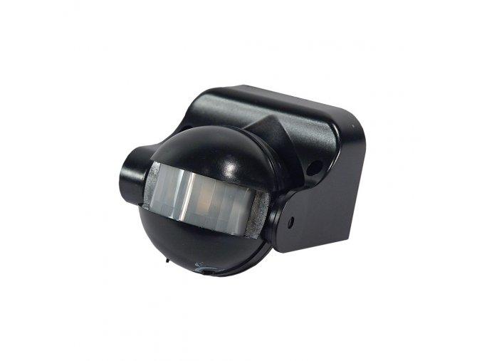 Pohybové čidlo PIR SES09BL 1200W 180° IP44 černé