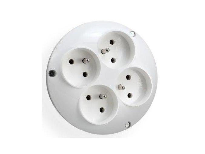 Adaptér RO-40 pro 4 kulaté vidlice