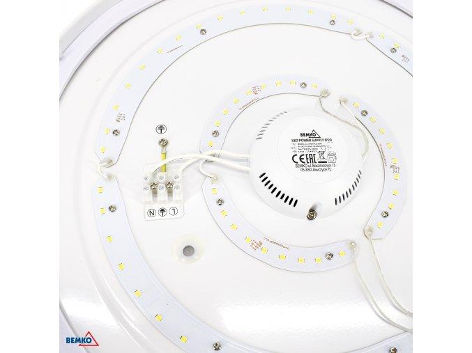 LED svítidlo TOKAR 12W IP44 4000K 960lm + PIR