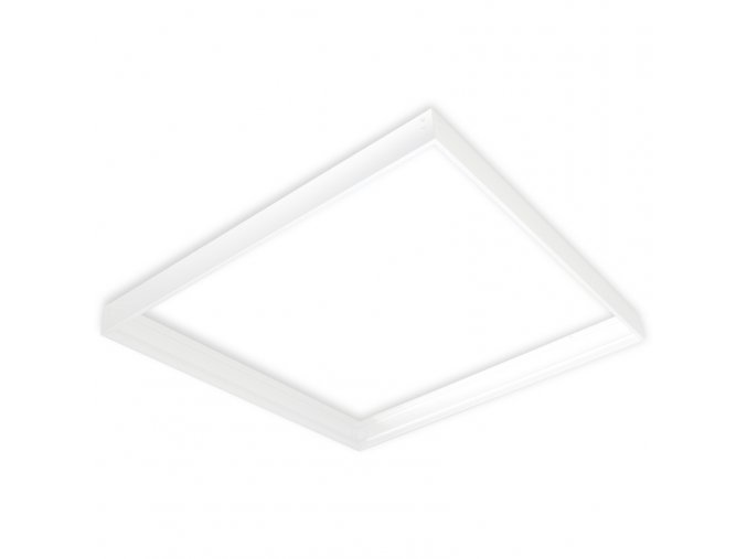 montážní rám ZOLED bílý pro přisazenou montáž 600x600mm