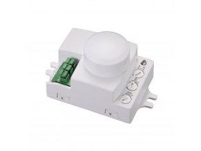 Pohybové čidlo-mikrovlnné SES72WH 1200W 360° IP20 obdélníkové bílé mini
