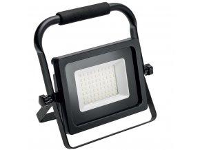 Reflektor LED iNEXT přenosný 50W 4000lm 6400K IP65 černá
