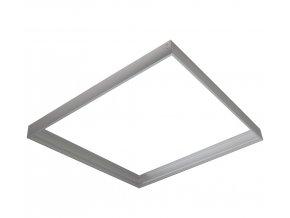 Montážní rámeček pro přisazenou montáž 600x600 - stříbrná AL