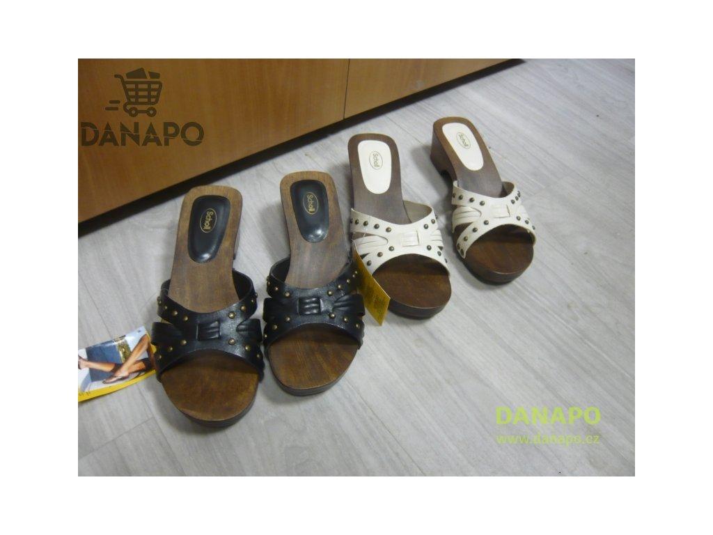 69f59561db35 Dámské dřeváky pantofle Scholl Voyager - DANAPO - David Černý