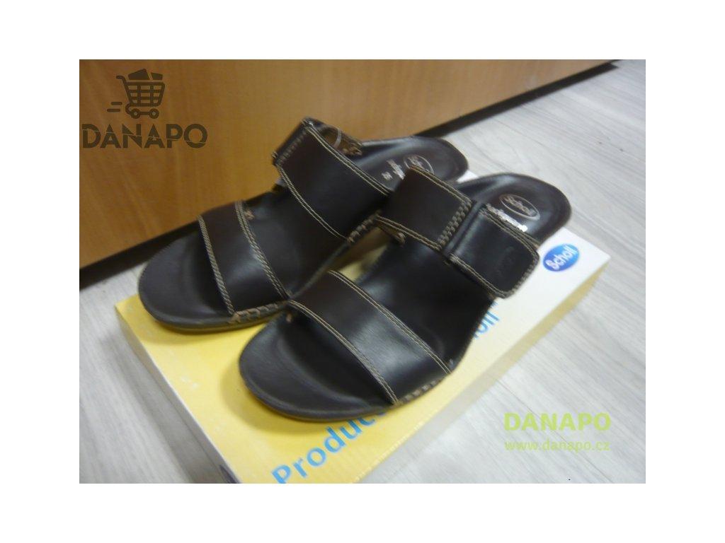 ac7e06894856 Dámské sandále pantofle nazouváky Scholl Liz 35 - DANAPO - David Černý