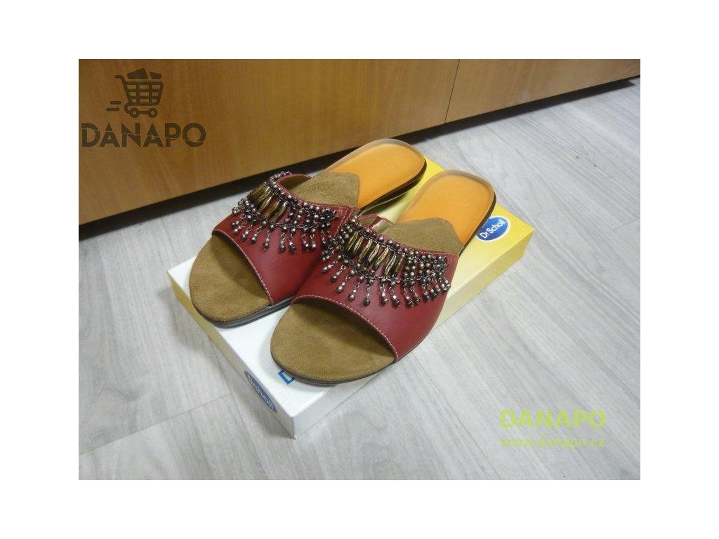 f9395690da0a Dámské sandále pantofle Scholl Charleston 41 červené - DANAPO ...
