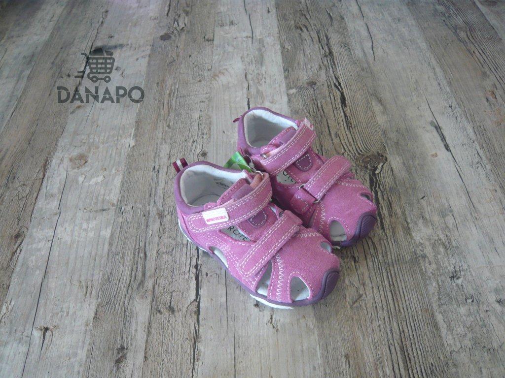 ad9f852c5 Sandály dětské Protetika Laris Purple - DANAPO - David Černý