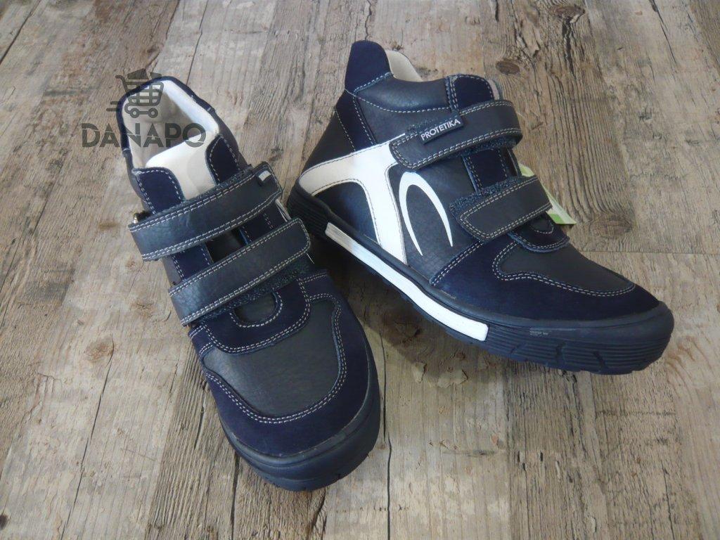 863c0e84cfa9 Dětské celoroční boty Protetika Tor Navy - DANAPO - David Černý