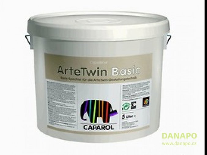 28960 capadecor arte twin basic 5 l disperzni tmel barva