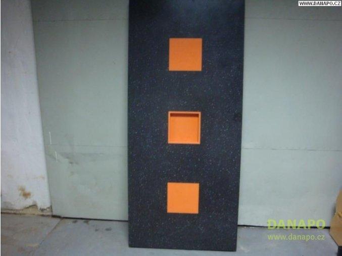 29419 cerna pracovni deska imitace mramor vhodna na ponk