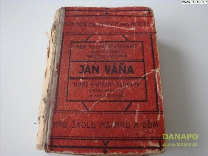 29467 cesko anglicky slovnik jan vana