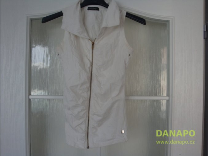 29545 damska bluza na zip kratky rukav