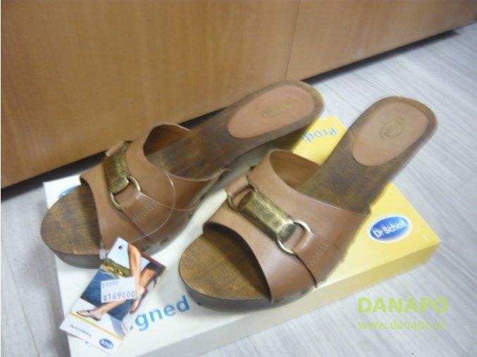 29704 damske drevaky pantofle scholl major