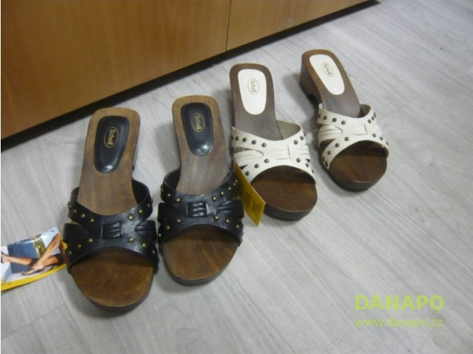 29716 damske drevaky pantofle scholl voyager