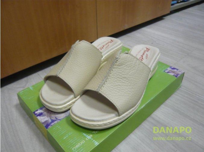 29803 damske kozene pantofle nazouvaky piumetta