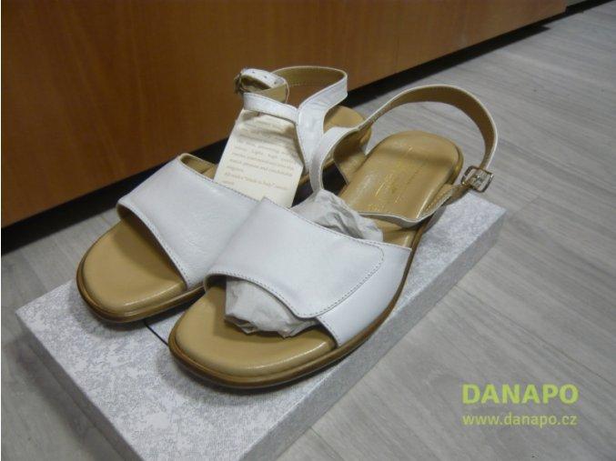 29809 damske kozene pantofle sandale antonelli