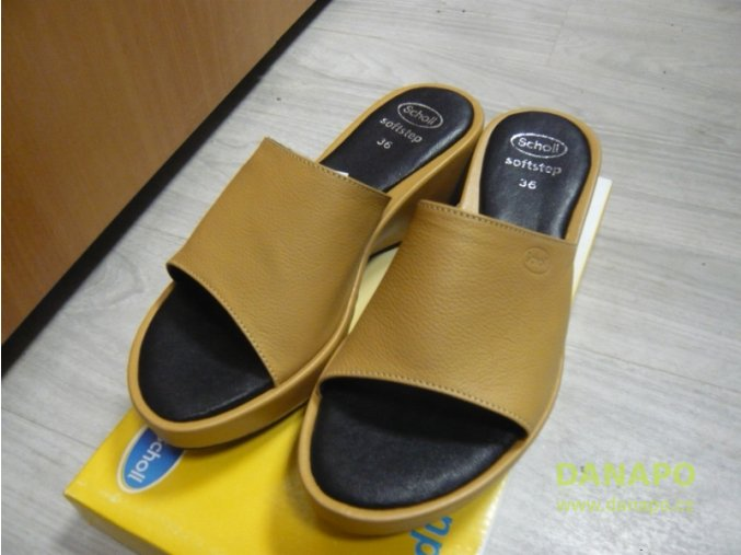 29935 1 damske pantofle nazouvaky boty scholl dalila 36