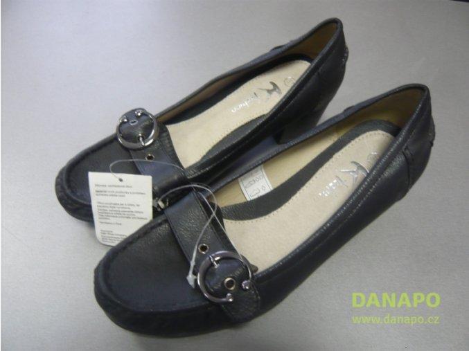 29986 damske polobotky boty obuv k fashion cerne 37 38 39