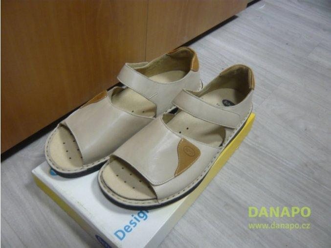 30130 damske sandale pantofle scholl flavia bezova