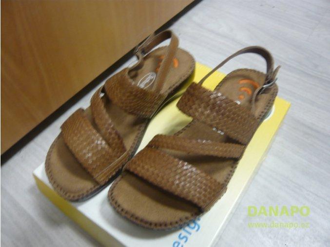 30142 1 damske sandale pantofle scholl weaver 36 hnede