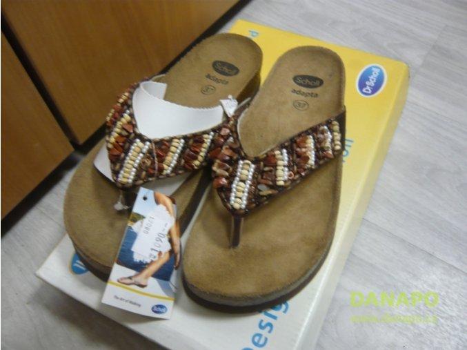 30229 1 damske zabky pantofle scholl beijing 37 hneda