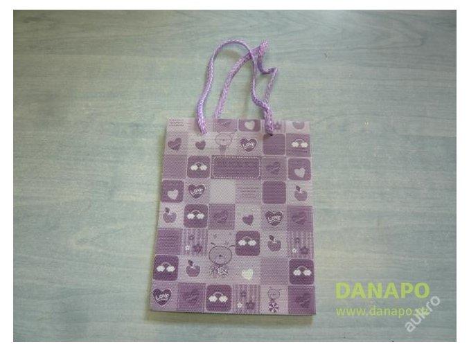 30427 darkova taska ruzovo fialova mala noell