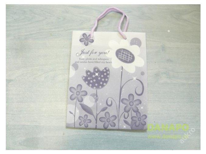 30430 darkova taska seda kvetiny mala noell