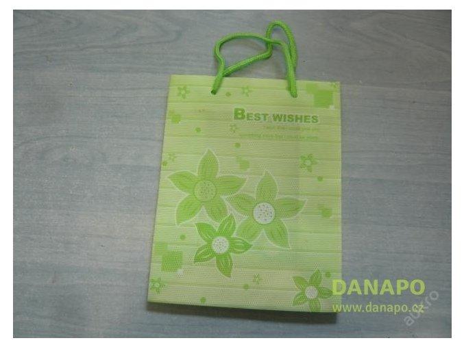 30433 darkova taska zelena kvetiny mala noell