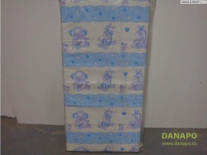 30784 detska matrace do postylky modra kokosove vlakno