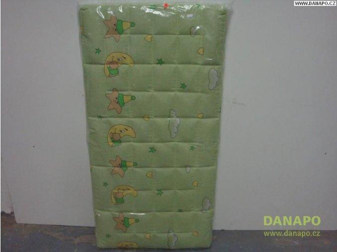 30793 detska matrace do postylky zelena gryko sen