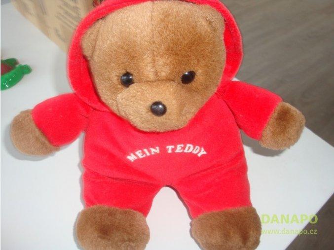 31240 detsky plysovy medvidek s kapuci