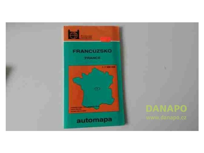 31714 francuzsko automapa 1992