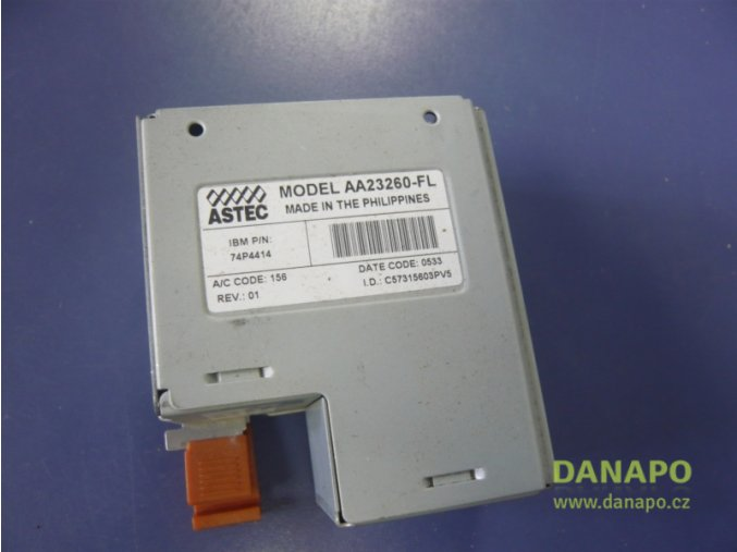 32149 ibm astec aa23260 fl power supply napajeci vypln