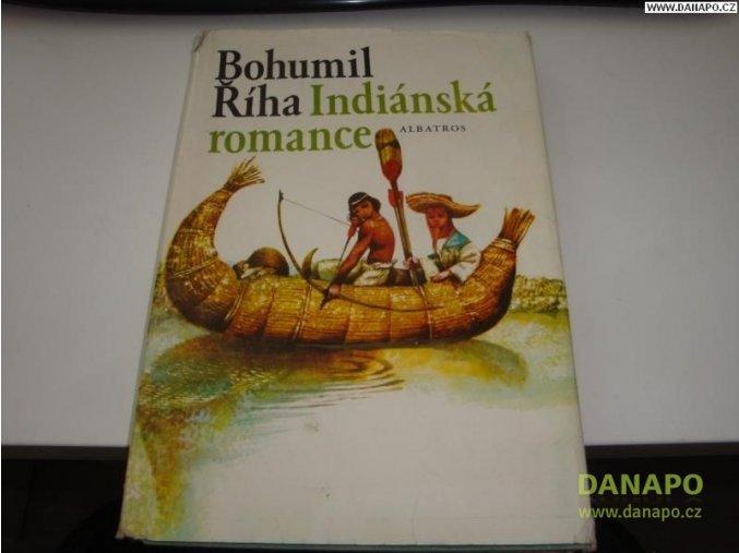 32161 indianska romance riha bohumil