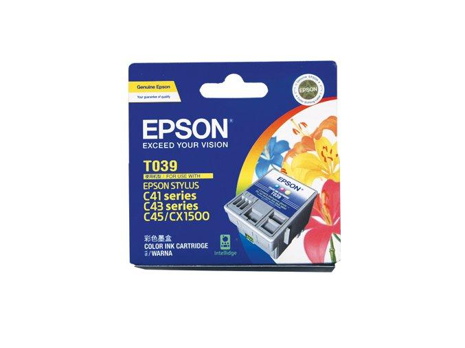 32188 1 toner epson t039 t03904a color barevna inkoustova