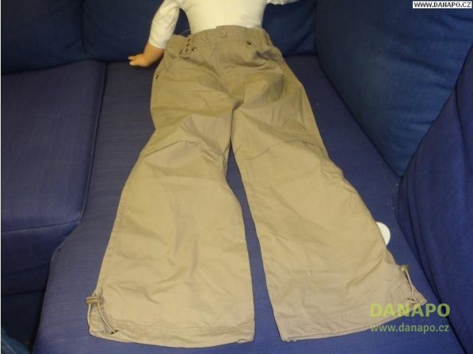 32341 kalhoty t go hnede vel 122