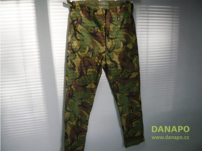 32362 kalhoty vojenske combat trousers poustni zelena uk
