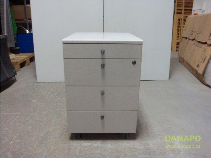 32455 kancelarsky box sedy ulozny box na koleckach