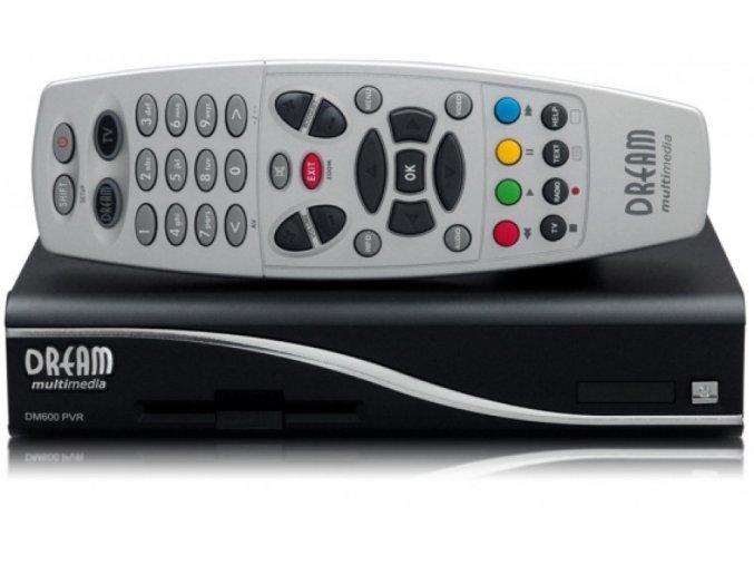 DVB-S Satelitní přijímač Dreambox DM 600 PVR Linux