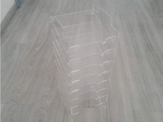 Plastový box /  police / šuplík regál 8x 15x15cm