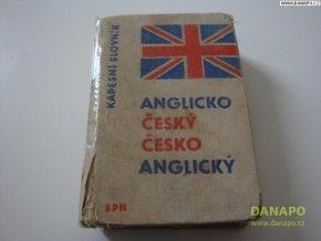 Anglicko-český slovník - Dr.Karel Hais