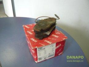 28918 brzdove desky trw gdb1425 jumper boxer ducato