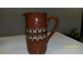 Bulharská keramika džbán