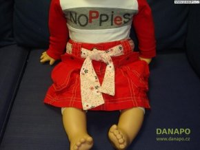 Červená sukýnka Noppies