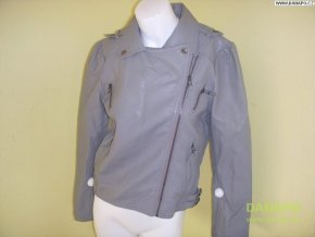 Dámská bunda koženka