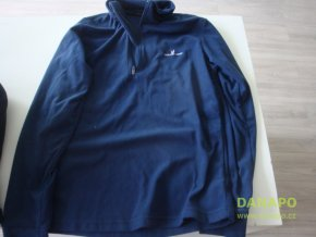 29572 damska fleece mikina modra m grouse greek